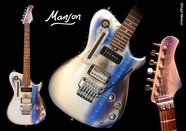 Las guitarras de Matt Bellamy (MUSE)
