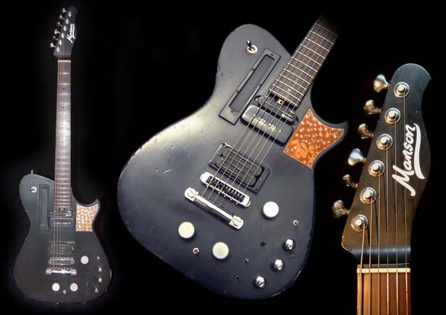 Las guitarras de Matt Bellamy (MUSE)