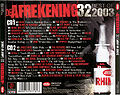 De Afrekening 32 – Best of 2003 – back cover.jpg