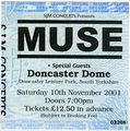 Doncaster 2001-11-10 – ticket.jpg