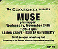 Exeter 1999-11-24 - ticket.jpg